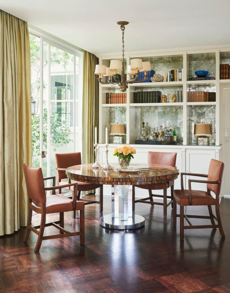 Madeline Stuart Hollywood dining room
