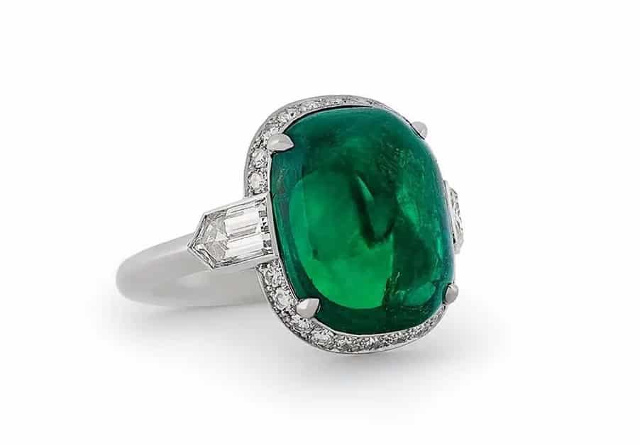 Hancocks Columbian emerald and diamond ring, 2020