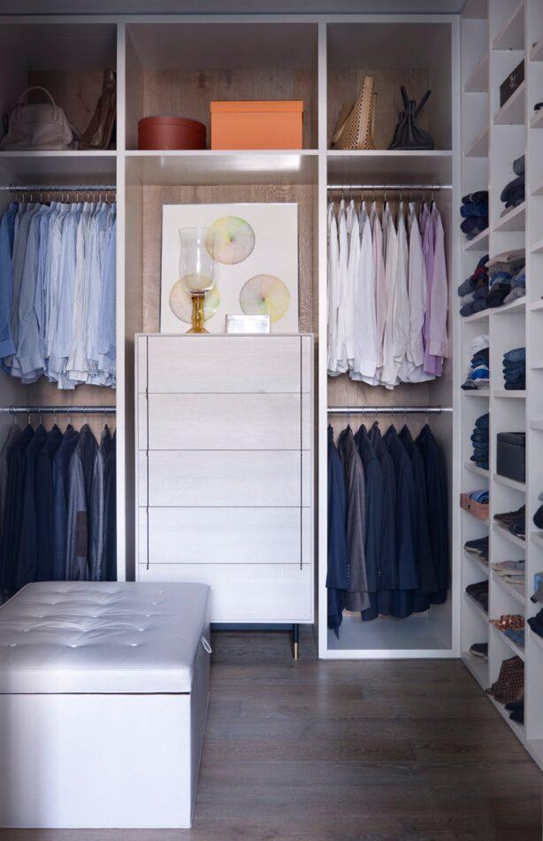 Shawn Henderson closet in Manhattan