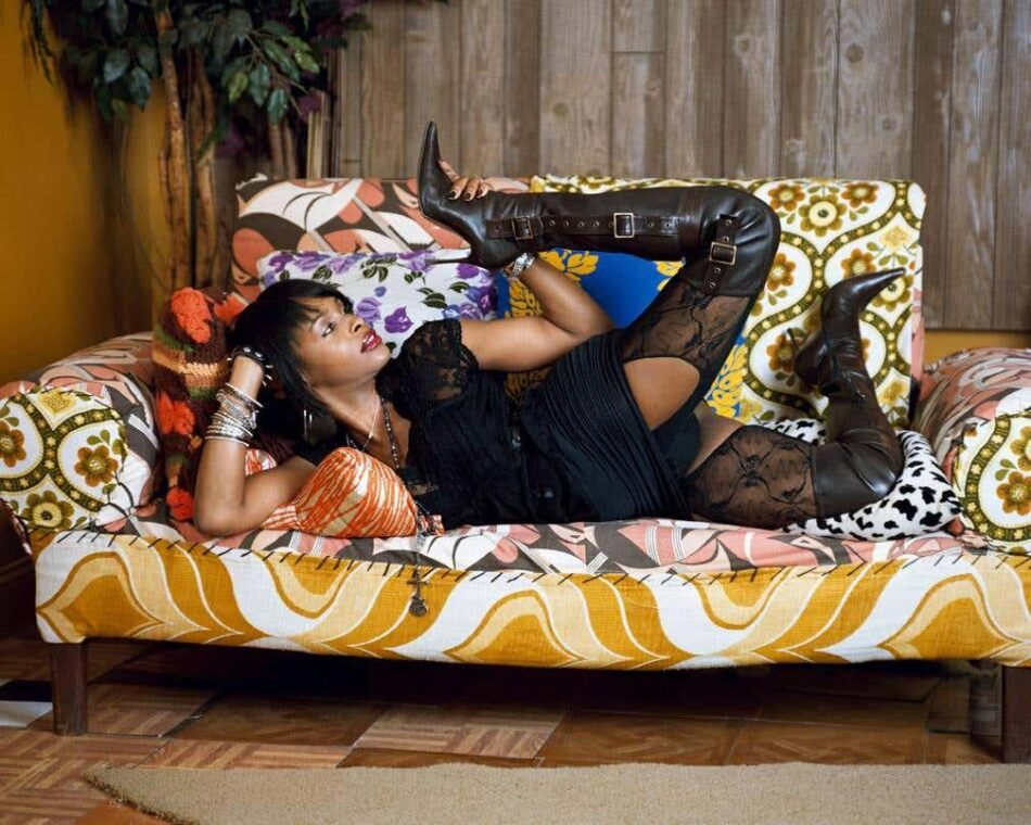Hot! Wild! Unrestricted!, 2009, by Mickalene Thomas