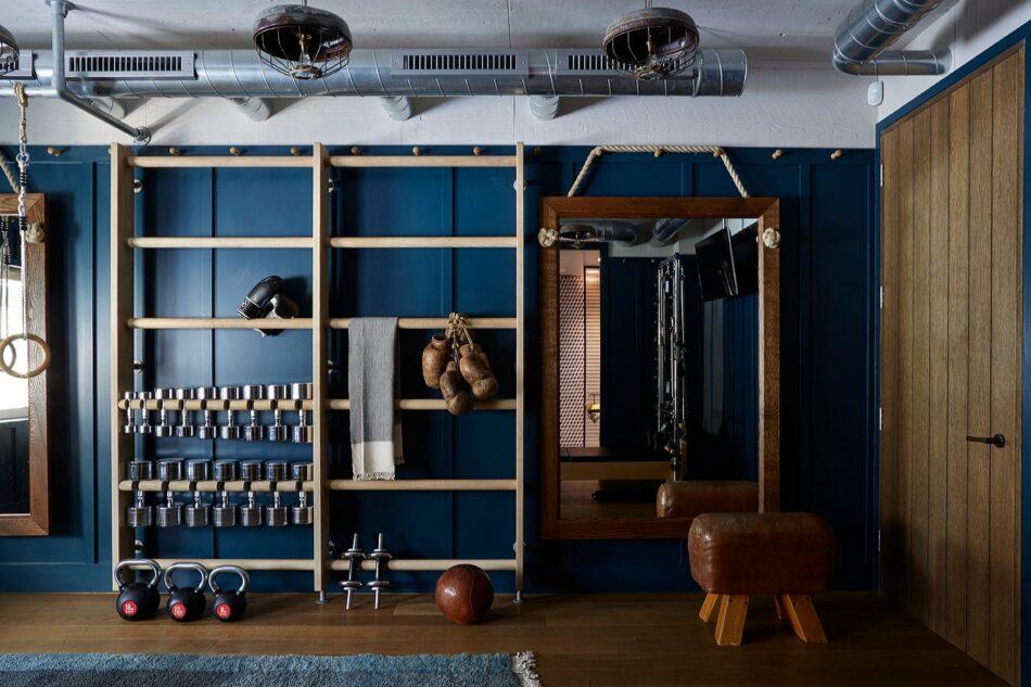 Industrial Gym by Hubert Zandberg