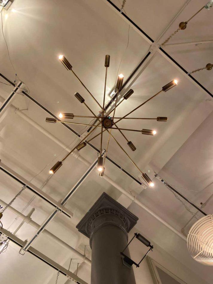 A Sputnik in Bernd Goeckler Antiques, in Manhattan.