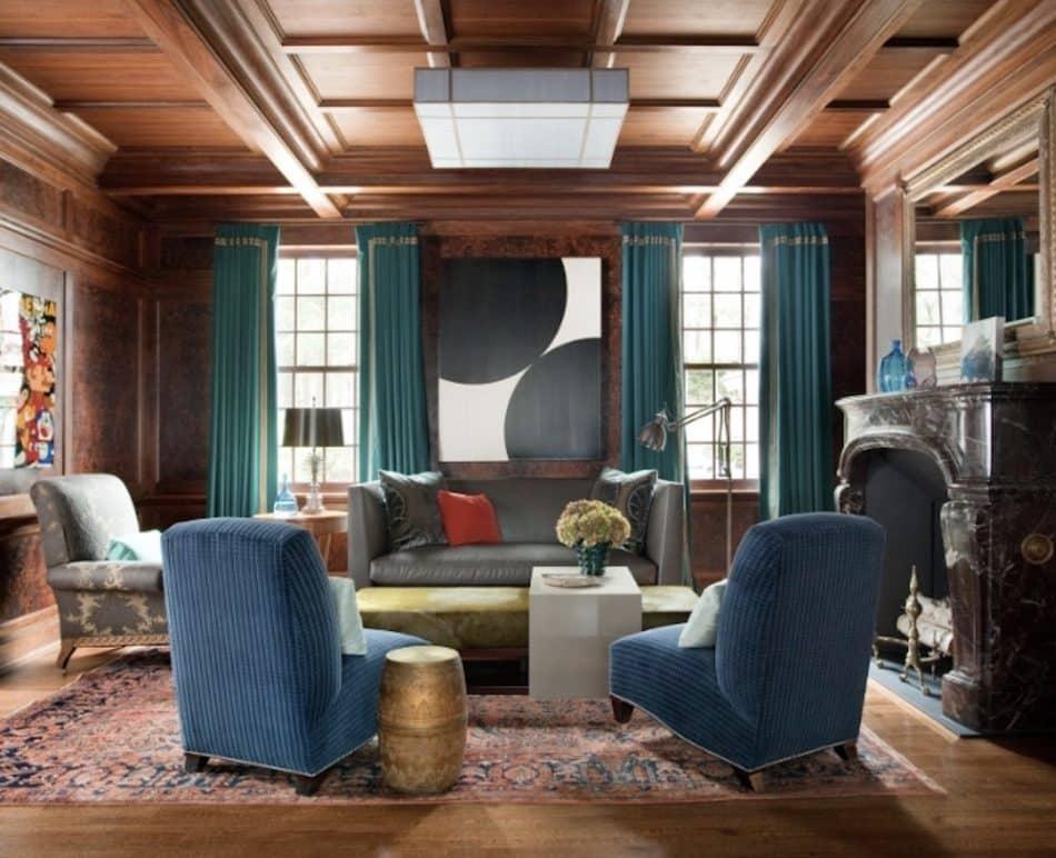Frank Roop living room