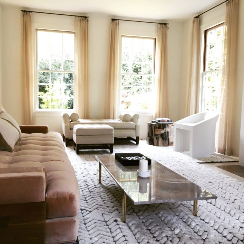 Living room in Mill Valley, CA by Sienna Oosterhouse