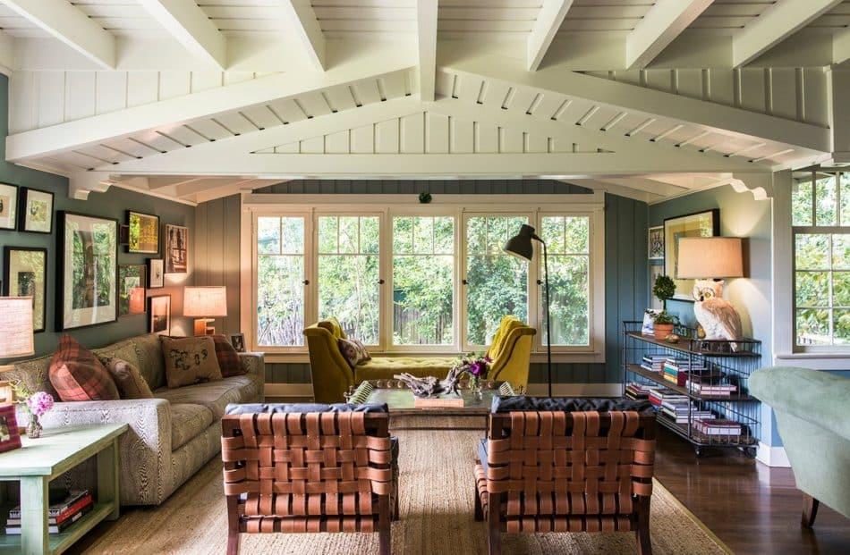 Reath Design Hollywood Hills living room