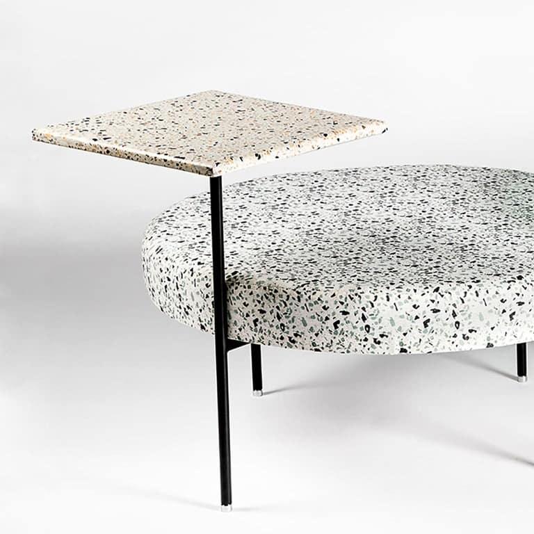 Stracciatella Seat and Table by FOAM