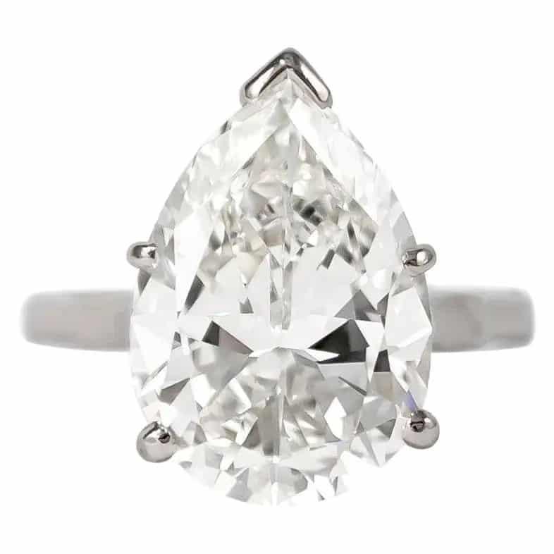 J. Birmbach diamond solitaire ring, 2014