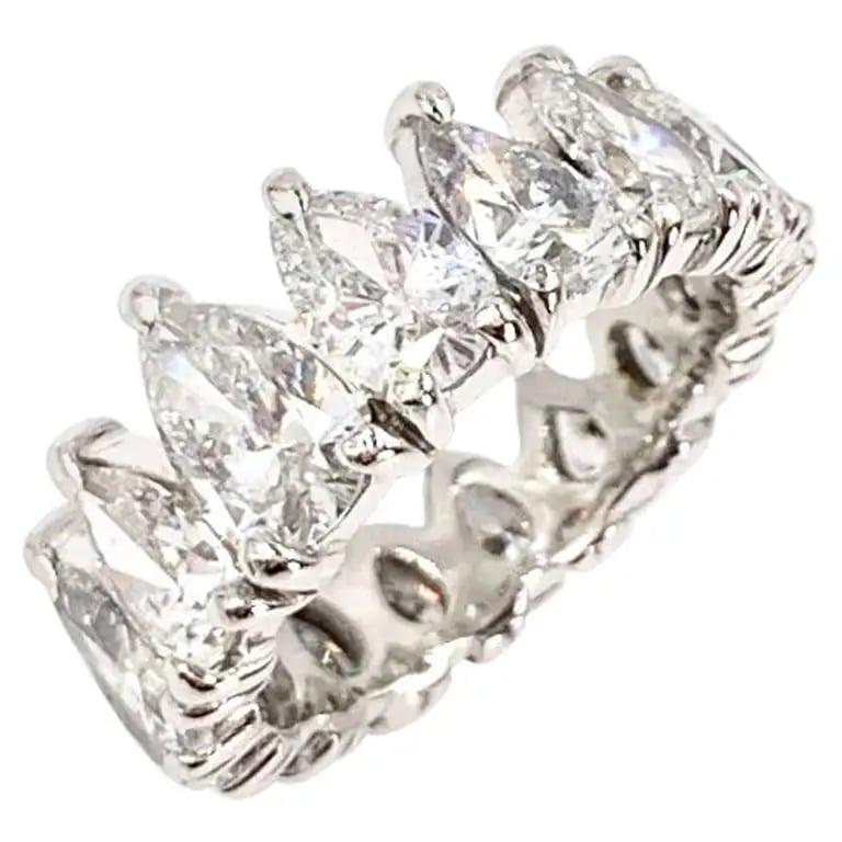 J. Brown Jewelers diamond eternity band, ca. 2010
