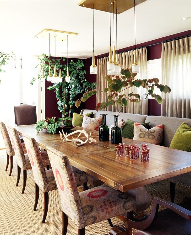 Beverly Hills dining room by Jeff Andrews