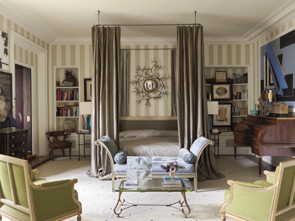 Paris bedroom by Jamie Creel