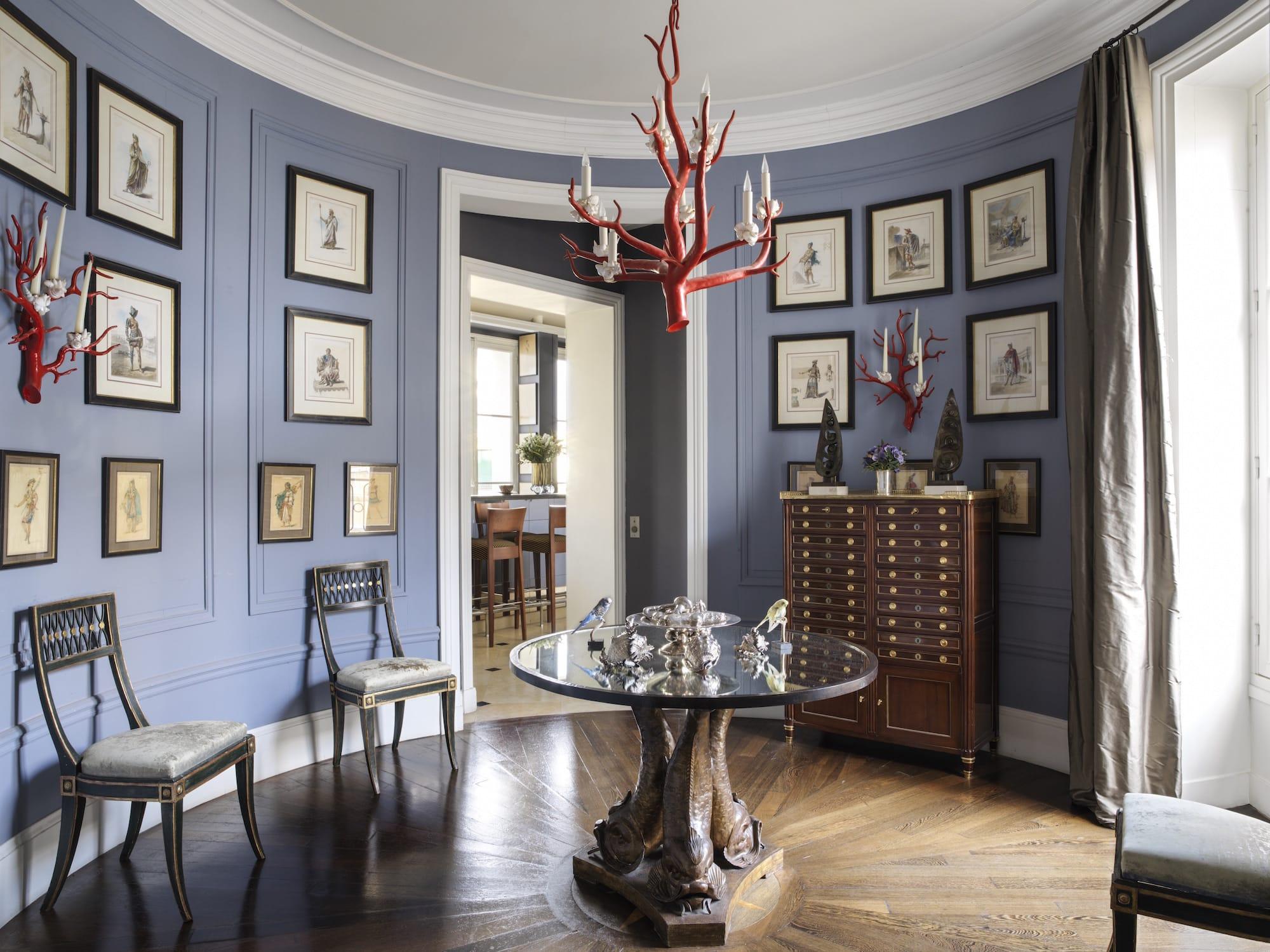 Jamie Cree's Paris foyer