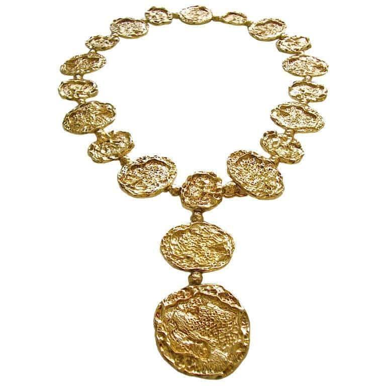Cartier Silver-Gilt Necklace Belt