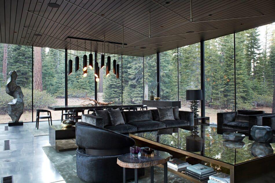 Jamie Bush Lake Tahoe living room