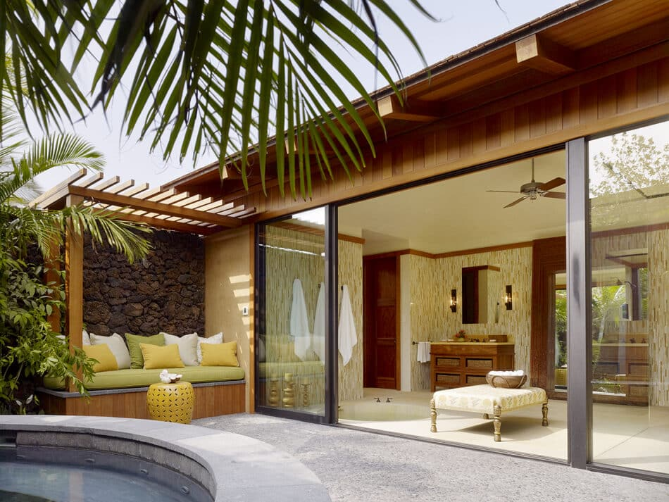 Christine Markatos-designed space in Hawaii