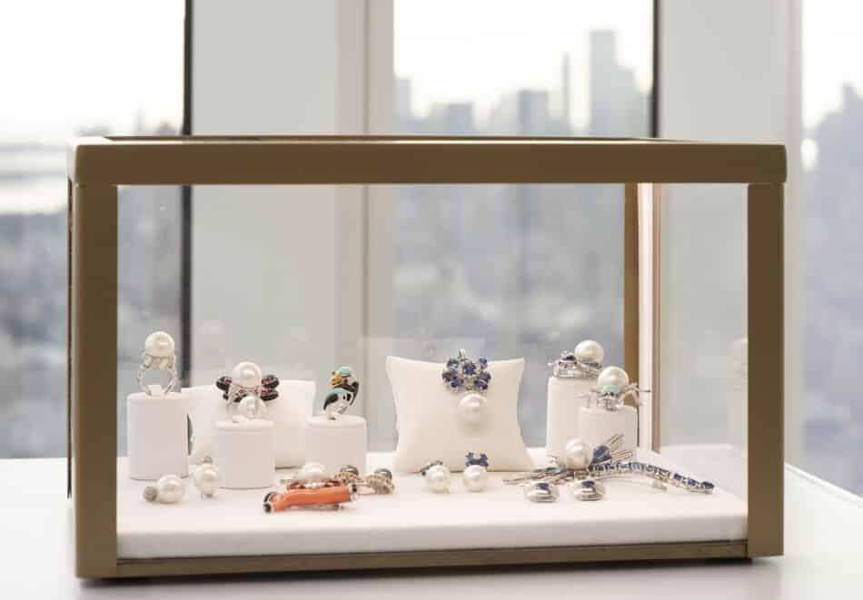 Ella Gafter pearl jewelry