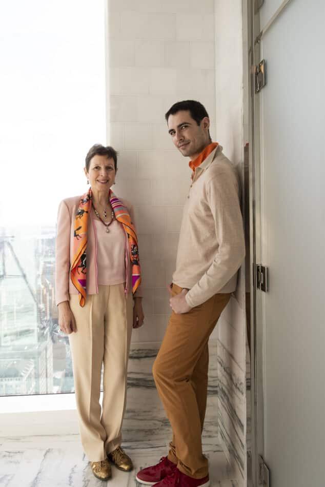 Talila Gafter and Jimmy O'Higgins of Ella Gafter