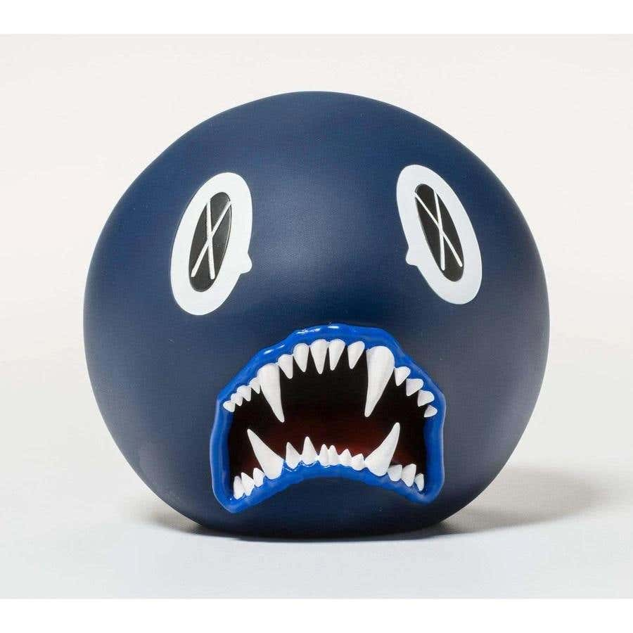 KAWS Cat Teeth Bank (Blue) 2007