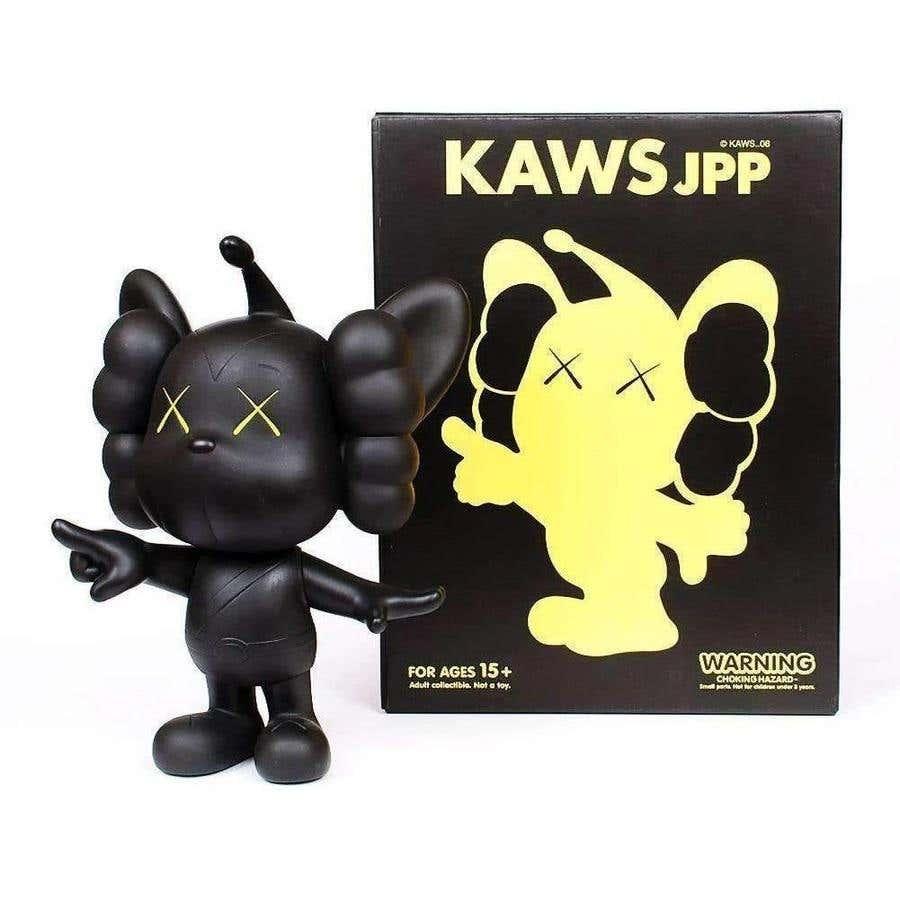 KAWS JPP (Black), 2008