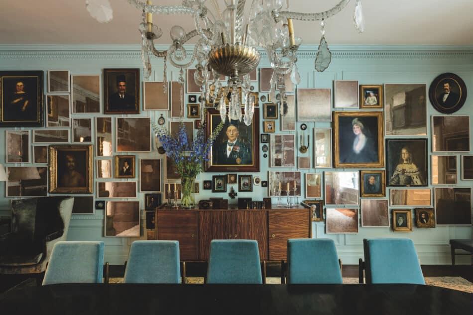 Manhattan dining room designed by Kerry Joyce