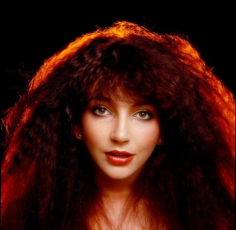 Kate Bush, 1978, by Gered Mankowitz