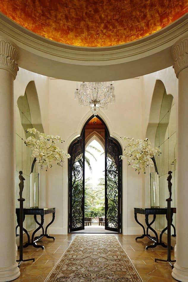 Moorish entryway by Linda Ruderman