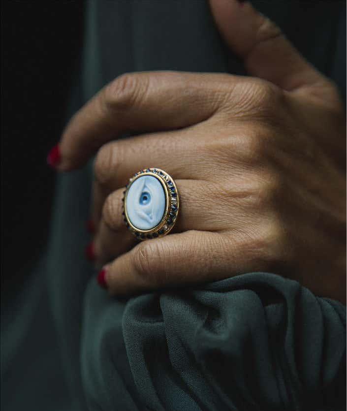 AnaKatarina's Eye Love Ring