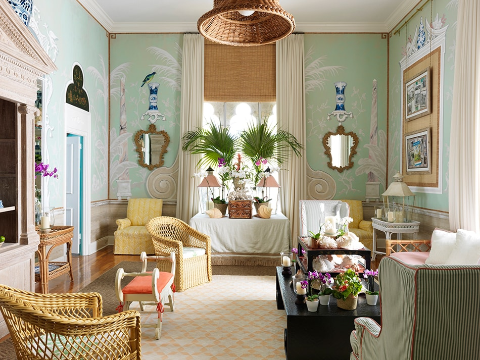 12 Polished Palm Beach Interiors The Study
