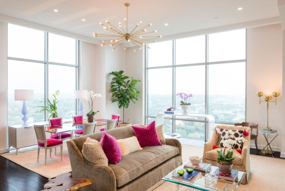 M Interiors Living Room