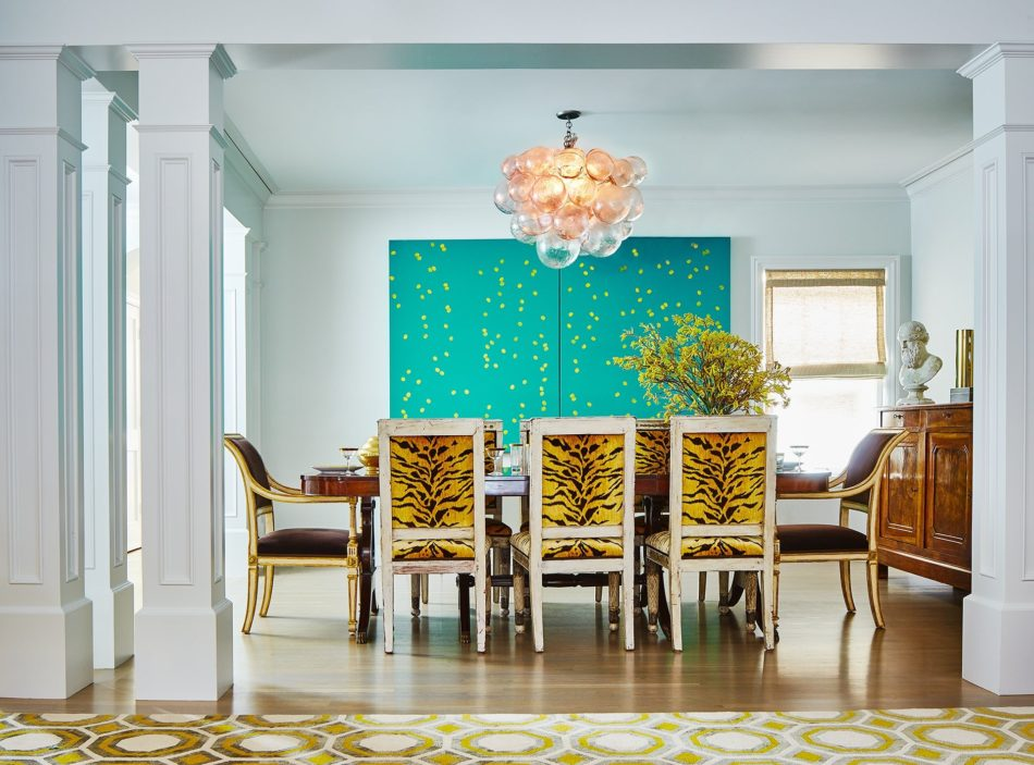 San Francisco dining room by Angus-McCaffrey Interior Design Inc.