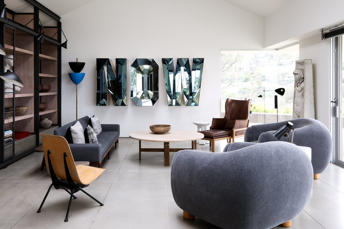 Living room in Laguna, California, by Matt Blacke Inc
