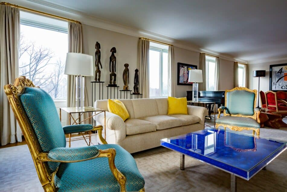 New York living room designed by Brian Murphy