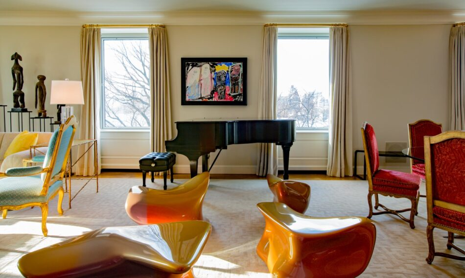 New York living room by Brian Murphy
