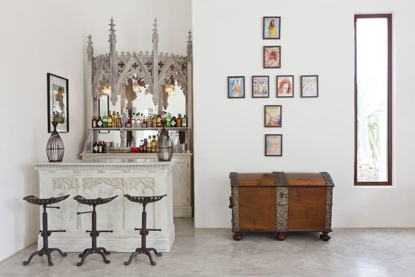 Godrich Interiors-designed bar in Ibiza, Spain