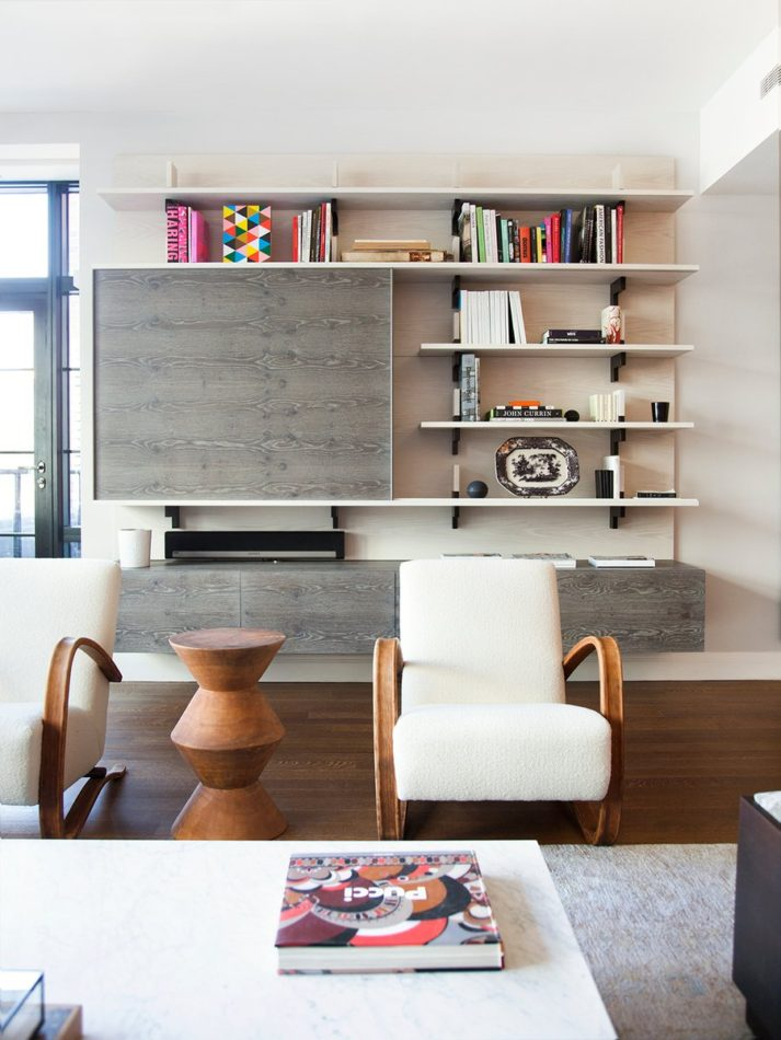 New York living room by Ashe + Leandro