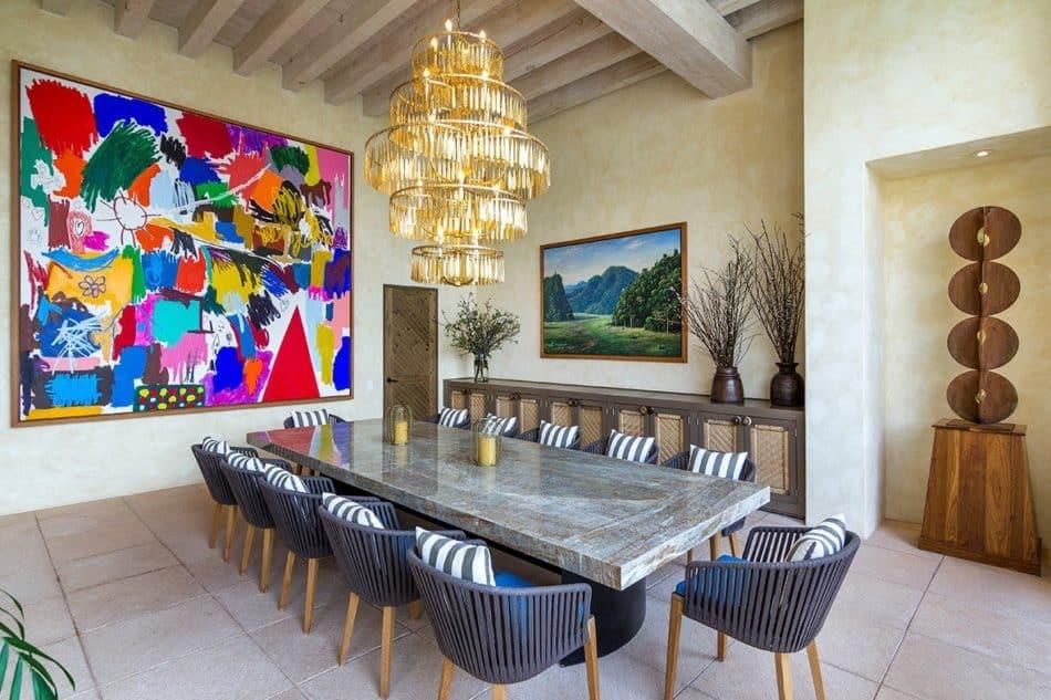 dining room by Sofia Aspe