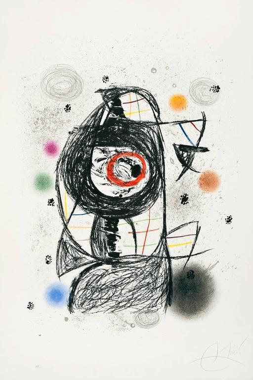 La jalouse, 1981, by Joan Miró