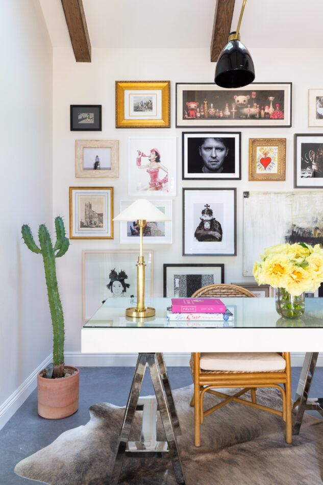 Studio City home office by Marie Flanigan Interiors