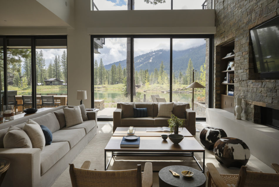 Lake Tahoe home designed by Marmol Radziner