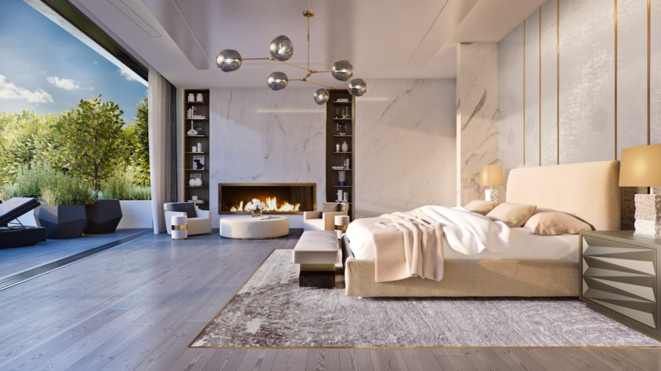 Bedroom by KES Studio