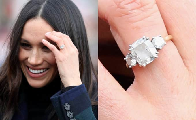 Royal Engagement Rings From Meghan Markle To Queen