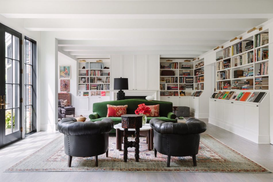 Chicago living room by Studio 6F