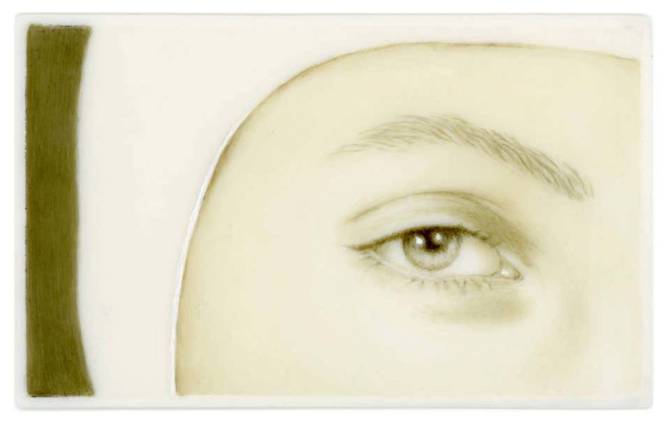 Lover's Eye III: Meret (after Man Ray), 2013, by Tabitha Vevers