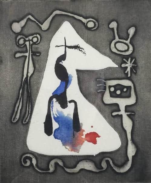 L'Antitete: Le Désespéranto, 1949, by Joan Miró