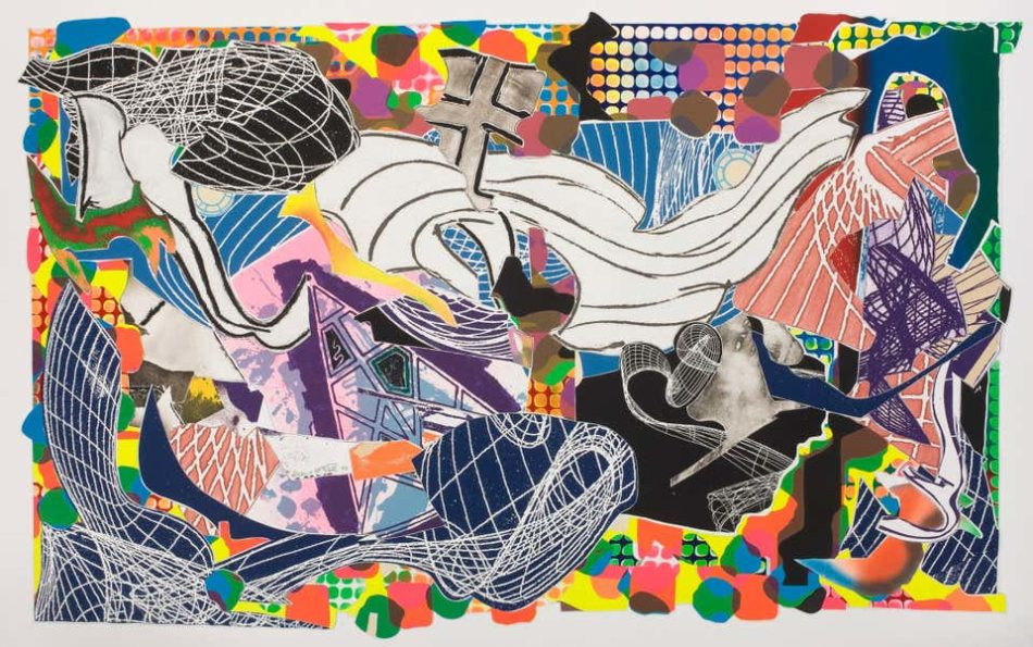 Monstrous Pictures of Whales 1993, by Frank Stella