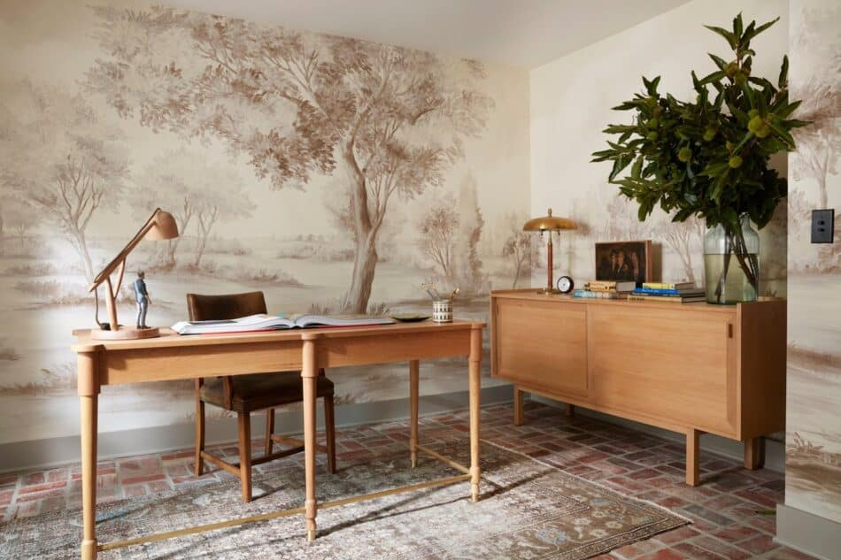 Los Angeles home office by Nickey Kehoe Design