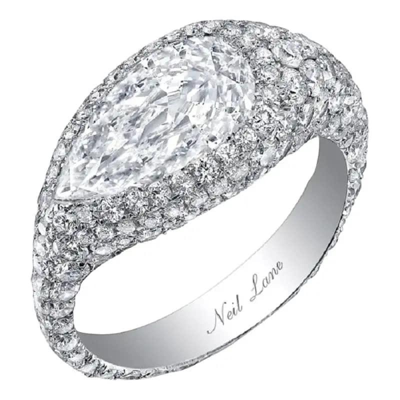 Neil Lane Couture diamond ring, 2020