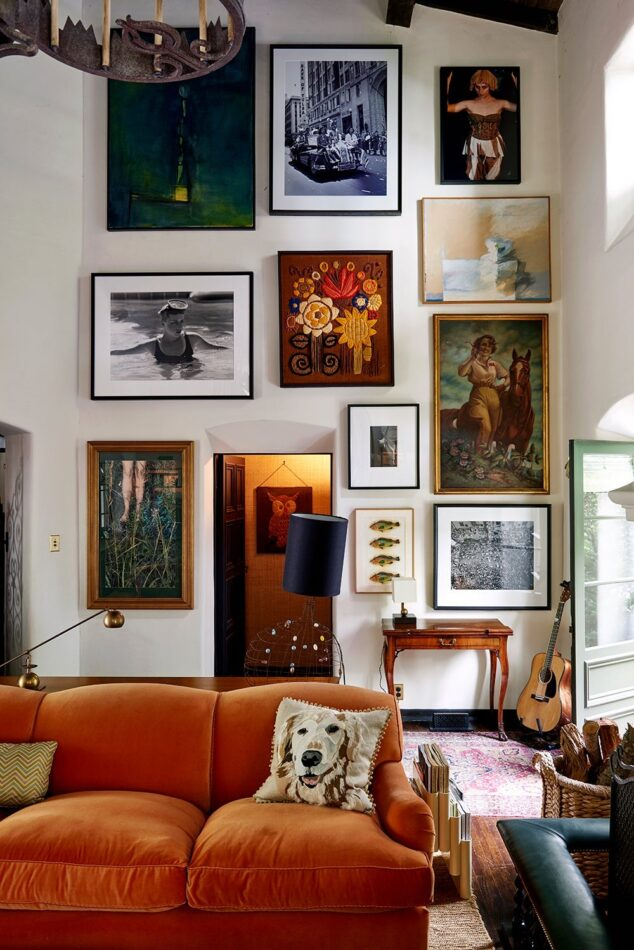 Nickey Kehoe-designed space in the Hollywood Hills