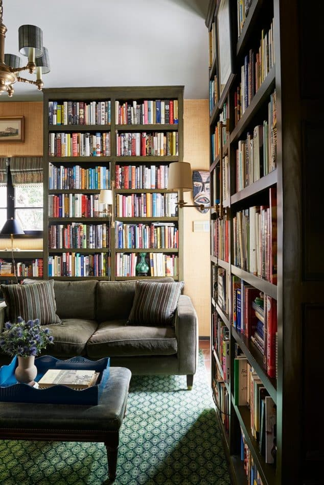 Library in the Hollywood Hills by Amy Kehoe