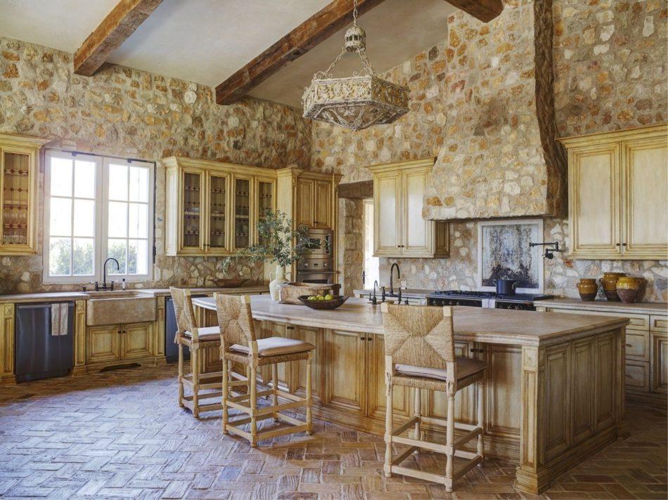 rustic kitchen by Ohara Davies-Gaetano