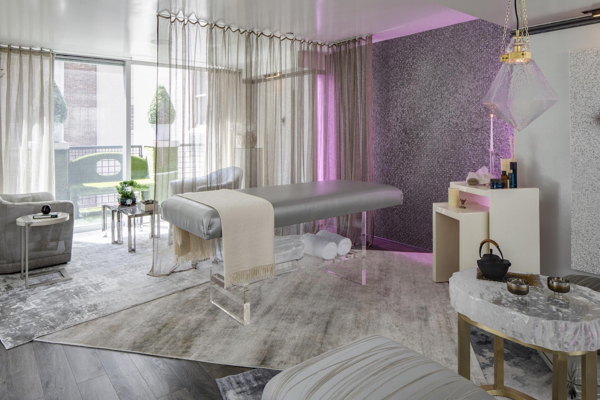 Sixth-floor wellness retreat by Charles Pavarini III Design Associates Inc.